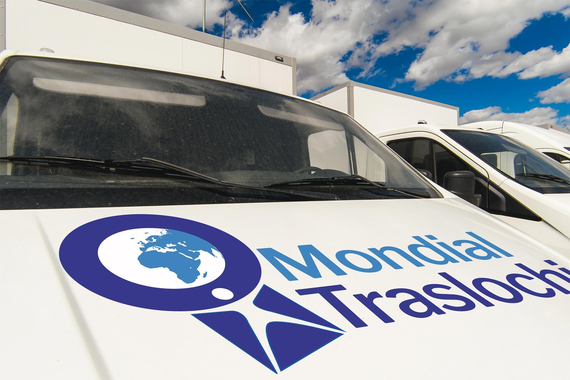 Noleggio automezzi Mondial Traslochi